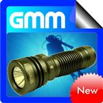 Scuba Cree Q5 High Power LED Diving Flashlight