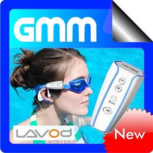 AquaShuttle Waterproof MP3 Player 4GB (White)