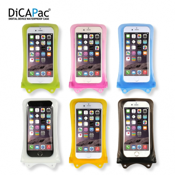 DiCAPac WP-i10 Waterproof Case for Apple iPhone 3/ 4/ 5/ 6/ 7