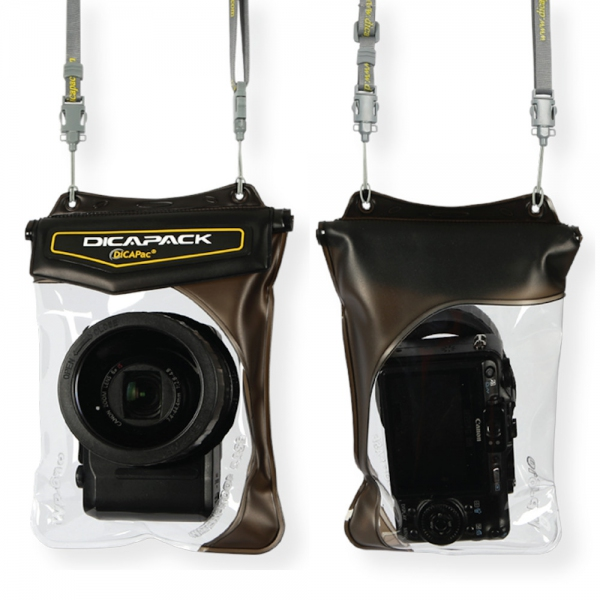 DiCAPac WP-610 waterproof case for prosumer camera