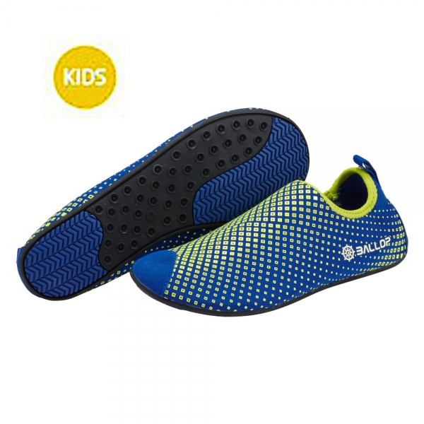 Ballop Skin Shoes Light Series Line (Dia Kid Blue)