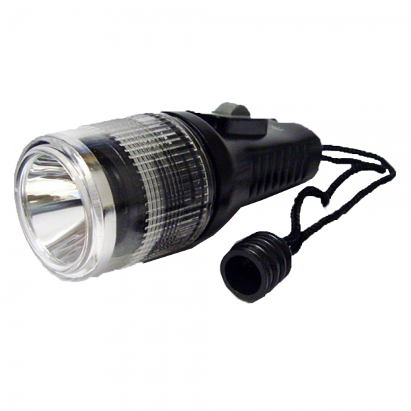 Fronta 1W LED backup torch (50m waterproof) 50 lumens