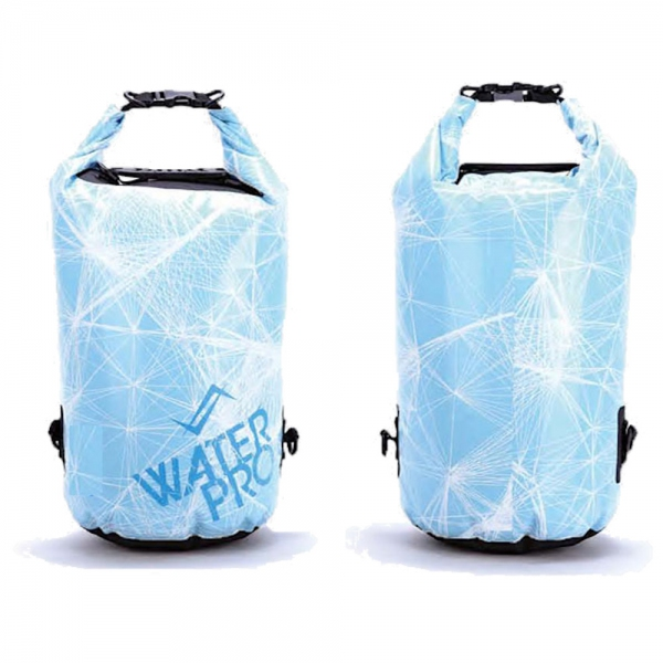 Water Pro Waterproof Dry Bag Slush Blue - 30L Capacity