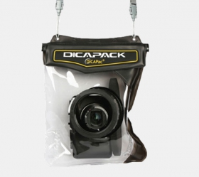 DiCAPac WP-H10 waterproof case for prosumer camera