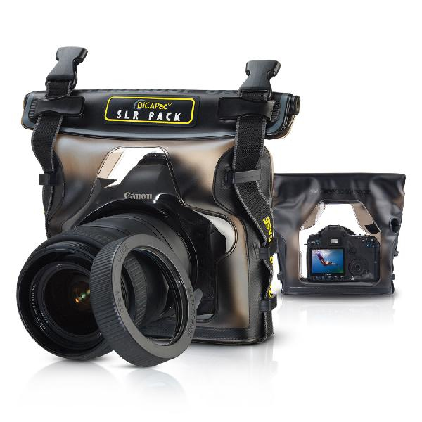 DiCAPac WP-S10 waterproof case for SLR / DSLR camera
