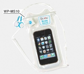 DiCAPac WP-MS10 for iPhone with earphone (iPhone 3, 4, 5)