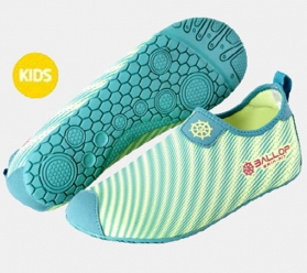 Ballop Skin Fit Shoes (Ray Kid Green)
