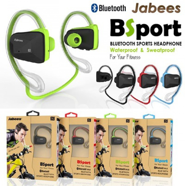 Jabees BSport Bluetooth Sports Headphones