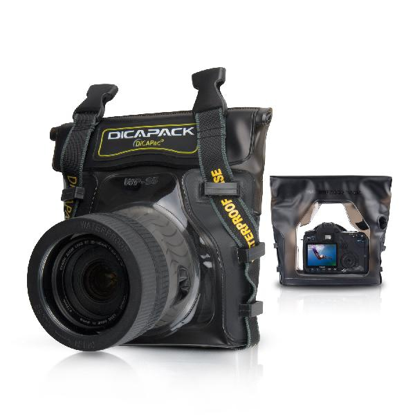 DiCAPac WP-S5 waterproof case for SLR / DSLR camera