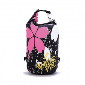 Water Pro Waterproof Dry Bag Blossom Black - 30L Capacity