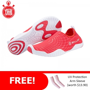 Ballop Skin Shoes Active Series Line (Spider Red) FREE: Arm Sleeve