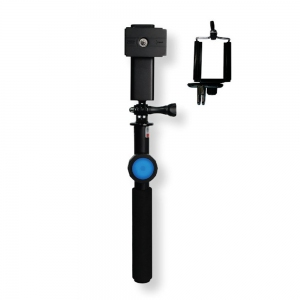 DiCAPac Action Floating Selfie Stick with a bluetooth 4.0 remote control