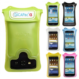 DiCAPac WP-C1 waterproof case for Galaxy S1/S2/S3/S4 or similar