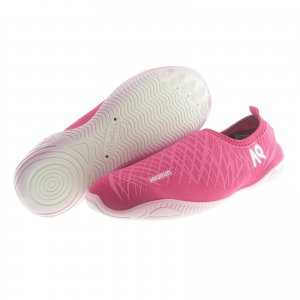 DiCAPac Aqurun Water Shoes White Outsole Edge Style (Pink)