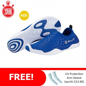 Ballop Skin Shoes Active Series Line (Spider Kid Blue) FREE: Arm Sleeve
