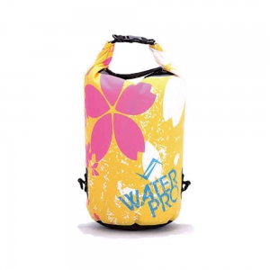 Water Pro Waterproof Dry Bag Blossom Yellow - 30L Capacity