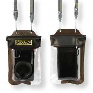 DiCAPac WP-ONE waterproof case for small to medium size compact camera