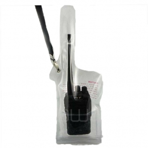 Waterproof Splash proof bag for walkie talkie two-way radio