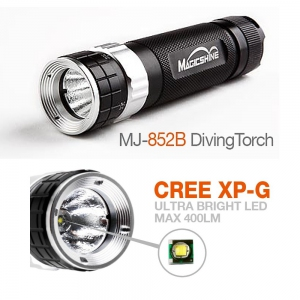 Magicshine MJ-852B Scuba Diving Flashlight 400 Lumen