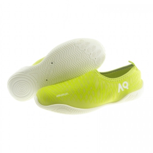 DiCAPac Aqurun Water Shoes White Outsole Edge Style (Green)